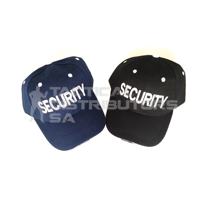 6 Panel Security Cap with Piping - Various Colours