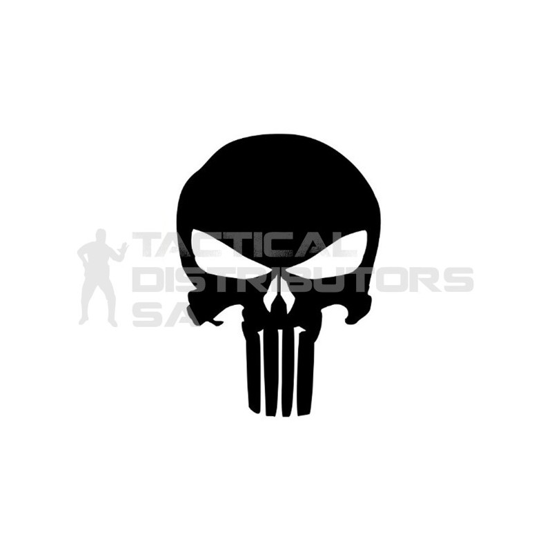 DZI Punisher Vinyl Transfer Sticker - 90mm - Various