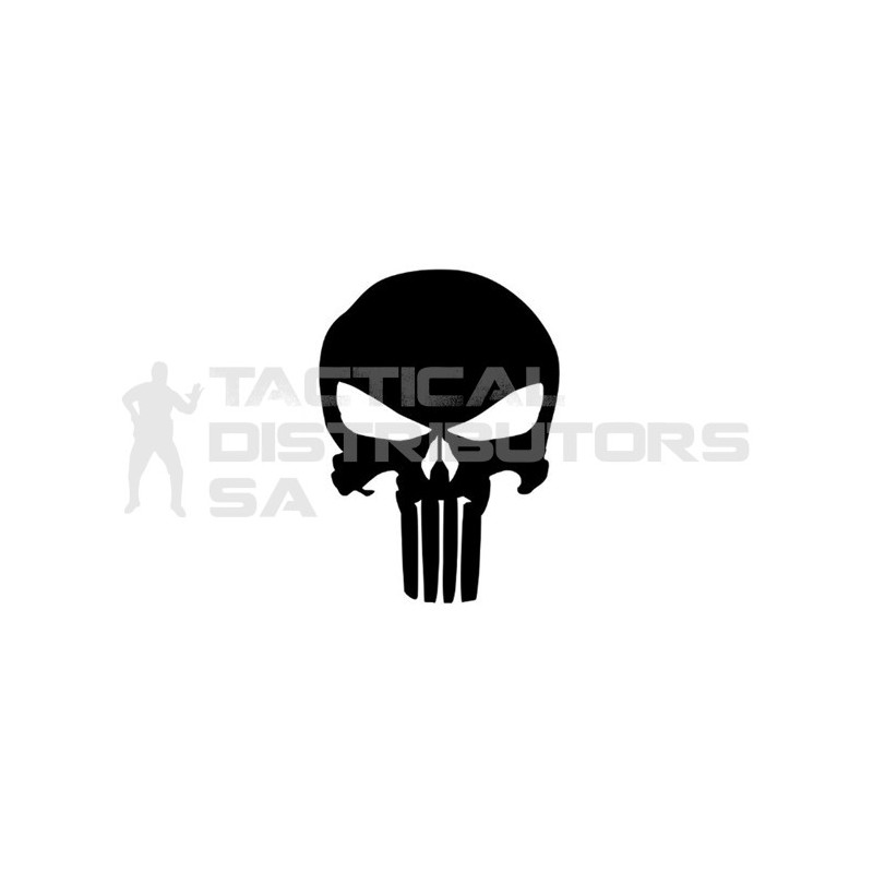 DZI Punisher Vinyl Transfer Sticker - 60mm - Various