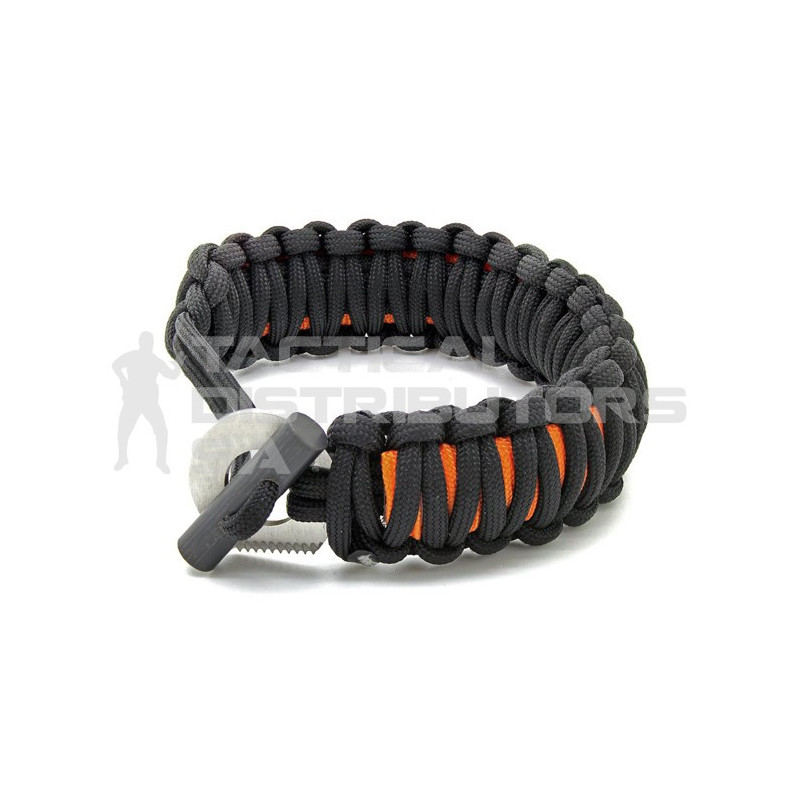 DZI Last Resort Adjustable Paracord Bracelet with Survival Kit - Various