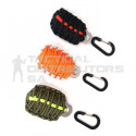 DZI  Paracord Grenade with Survival Kit and Carabiner - Various