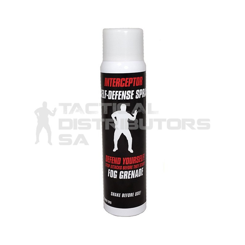 Interceptor 110ml/60g Total Release Pepper Spray Fog Grenade
