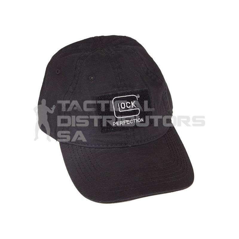 Glock Agency Cap with Velcro Patch - Black