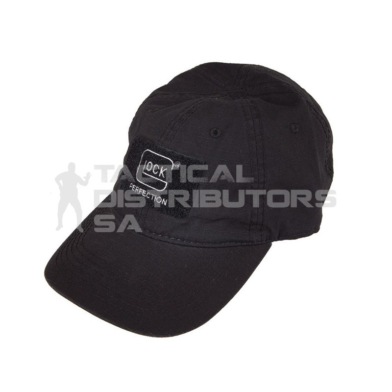 Glock Agency Cap with Velcro Patch - Black