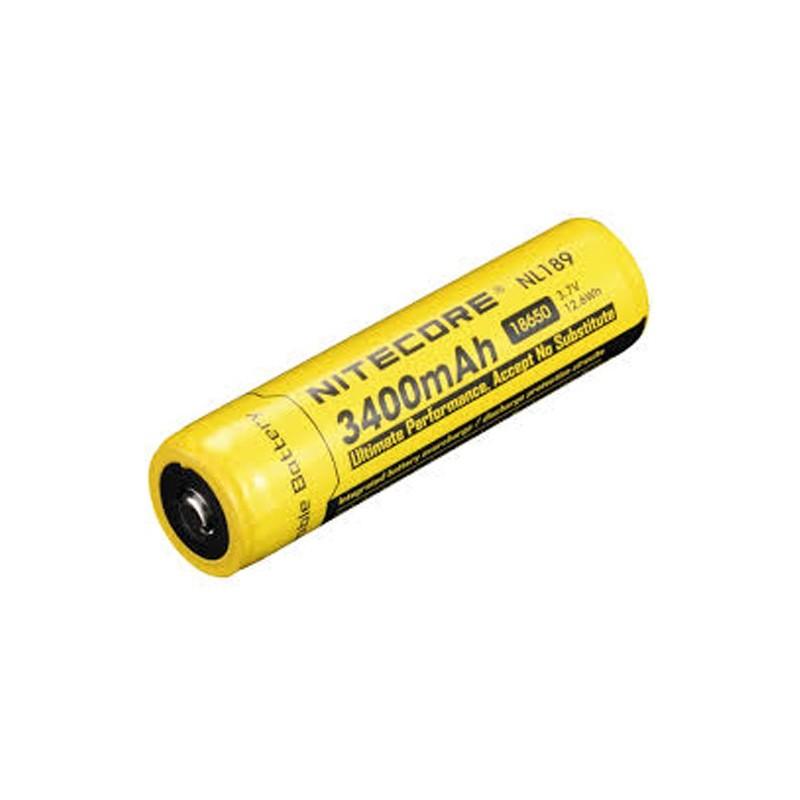Nitecore 18650 Li-Ion 3400mAH Rechargeable Battery