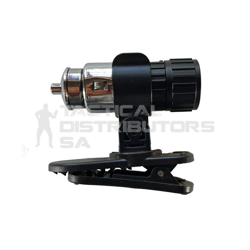 Zartek ZA-455 35 Lumen 12V Rechargeable LED Torch with Clip & Magnet