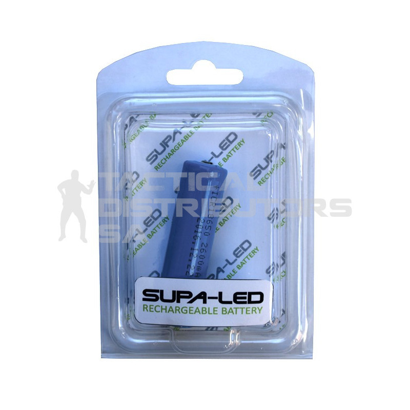 Supa LED 18650 / 2600Mah Rechargeable Battery