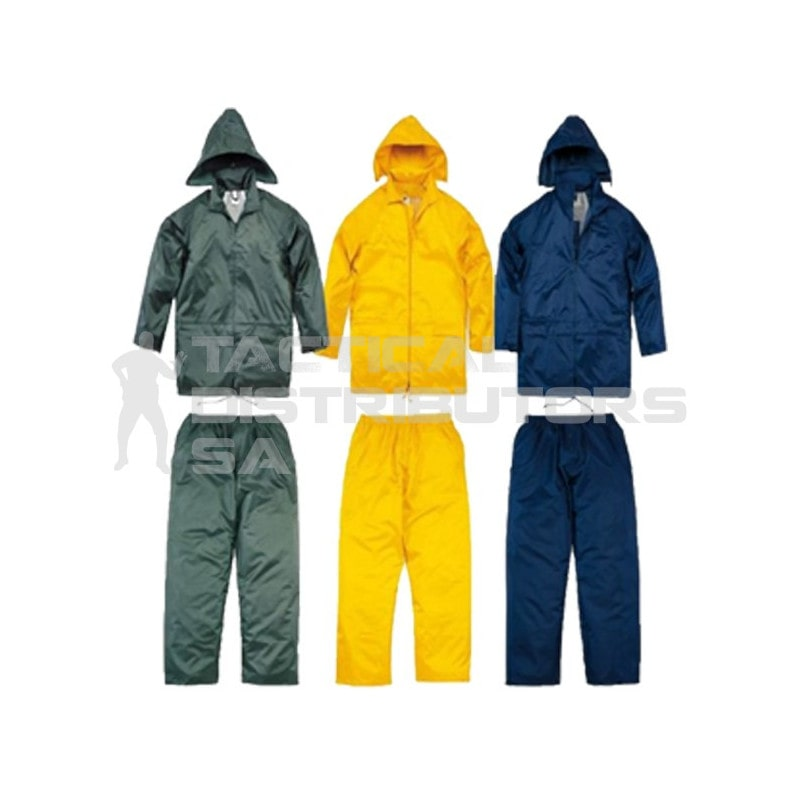 Rubberised Rain Suit - Various Colours