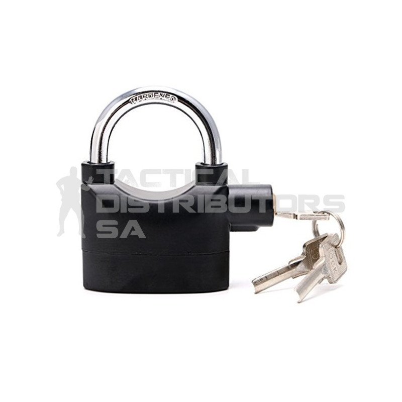 110dB Alarm Lock with 3 x Keys - Tactical Distributors SA (Pty) Ltd