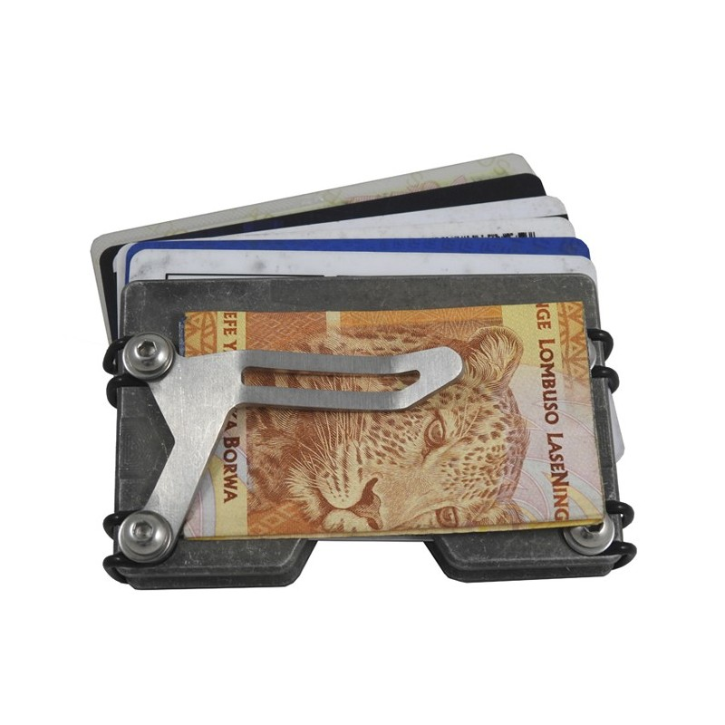 DZI EDC Tac Wallet with Money Clip - Various