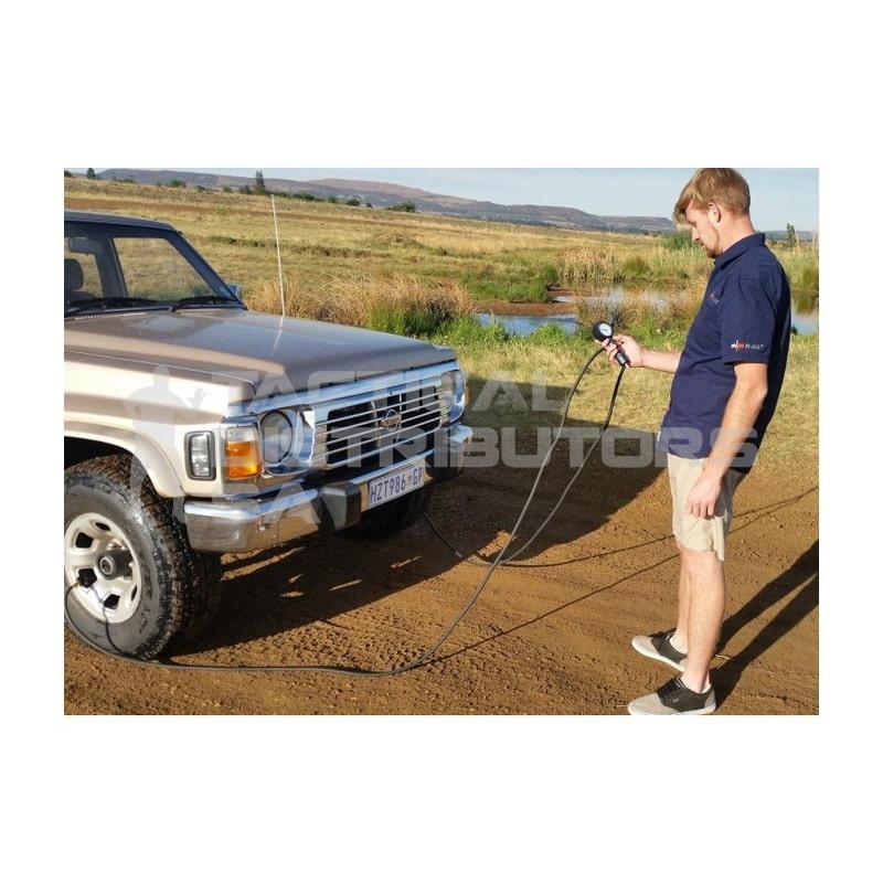 Indeflate Dual Tyre Deflator/Inflator/Equaliser