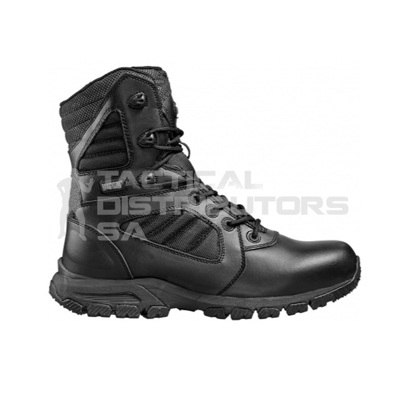 Magnum Lynx 8.0  Black Side Zip Boot
