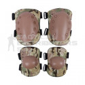 Knee and Elbow Pads Set - Various Colours