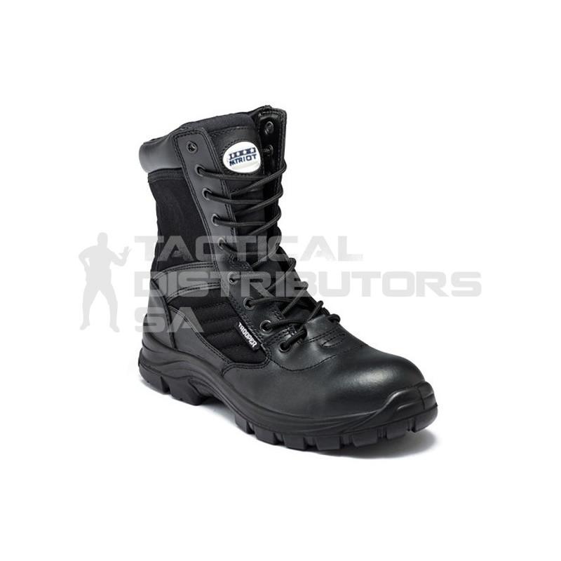 Patriot Trooper No Side-Zip Tactical Boot