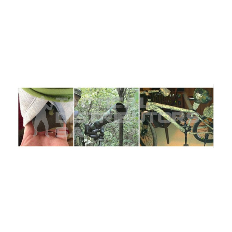 5m Re-Useable Adhesive Camo Tape - Various