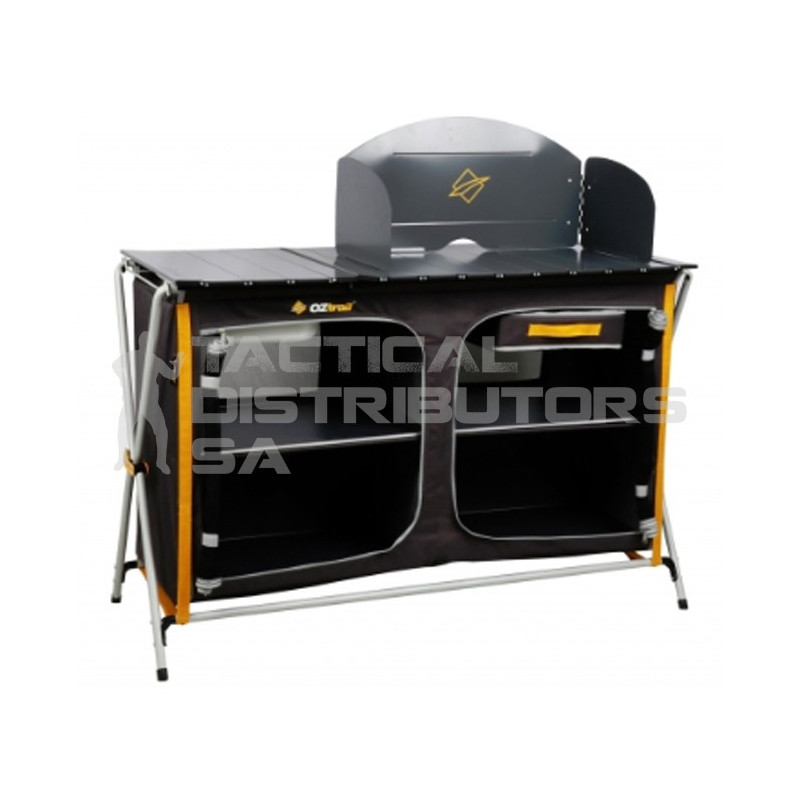Oztrail Camp Kitchen Deluxe With Sink - Tactical Distributors SA ...