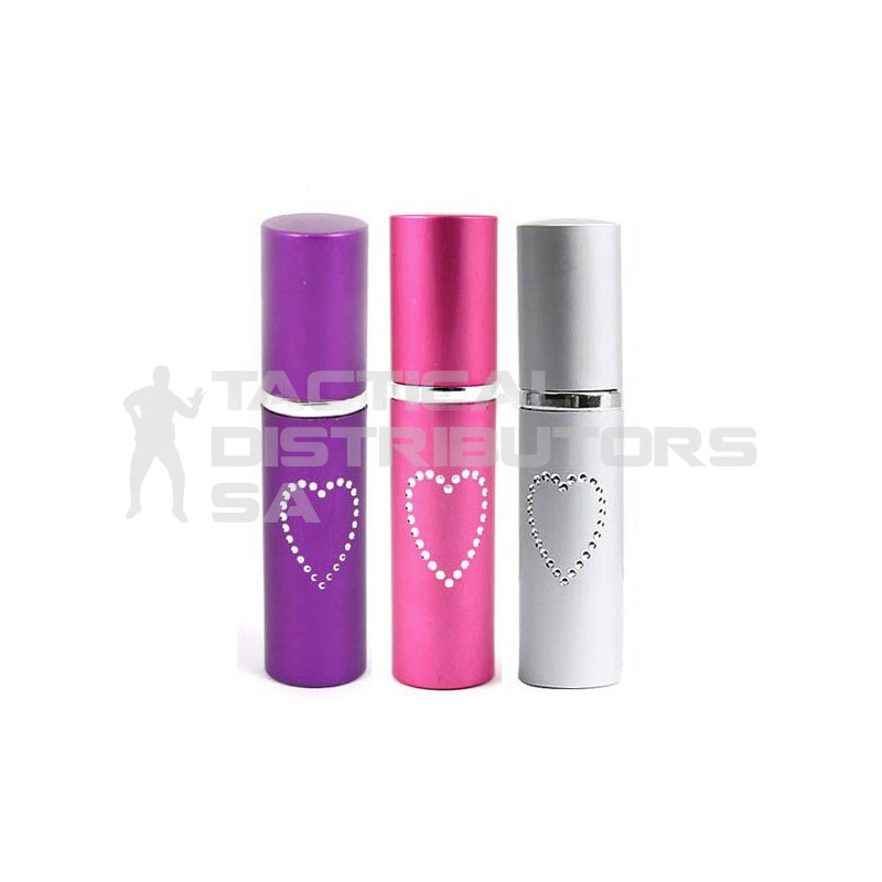 Lipstick Style Pepper Spray - Various Colours