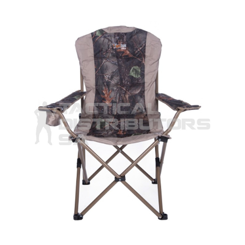 Afritrail Nyala Camo Luxury Arm Chair - 150Kg