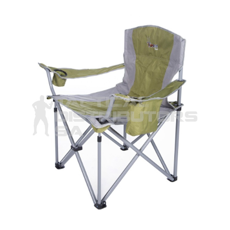 Afritrail Eland Mega Padded Folding Chair - 180Kg