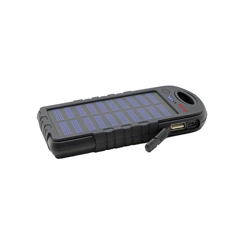 Zartek ZA-340 4000mAh Solar Powerbank with LED Work Light
