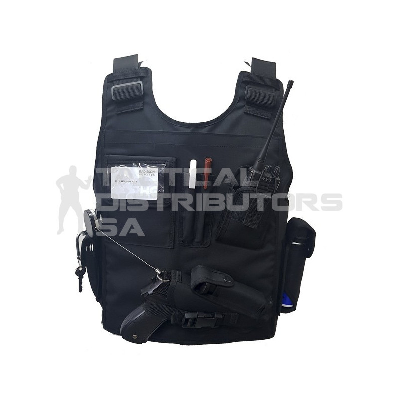 Reaction Officer Level II Front & Back Multi Pouch Bulletproof Vest - Various