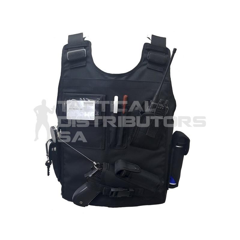 Reaction Officer Steel AK Front & Back Multi-Pouch Bulletproof Vest - Various