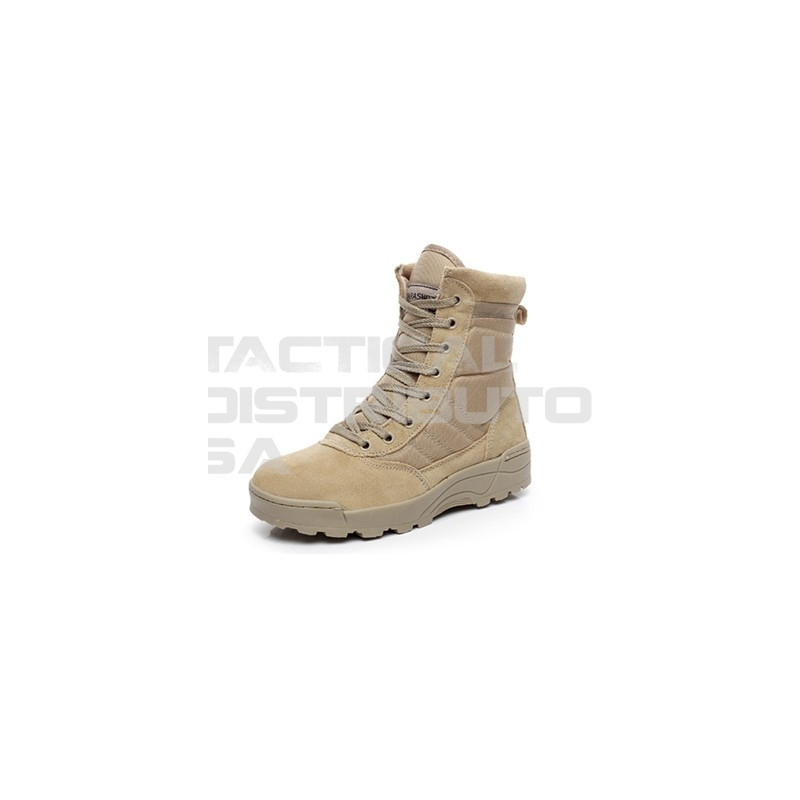 SWAT Tan Desert Side Zip Boots - Various