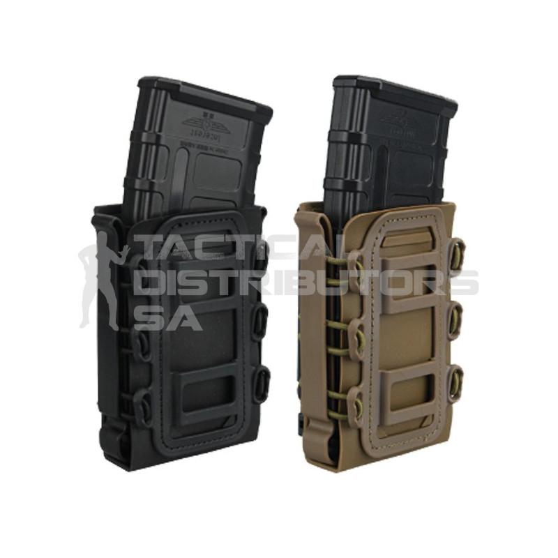 DZI Taco Style Adjustable AR/AK Rifle Mag Pouch - Various