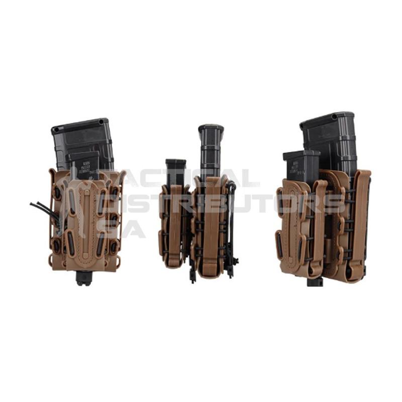 DZI Taco Style Mag Pouch Set (Pistol + Rifle Pouch +...