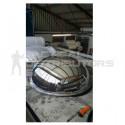 Half Dome/Hemisphere Mirror - 600mm
