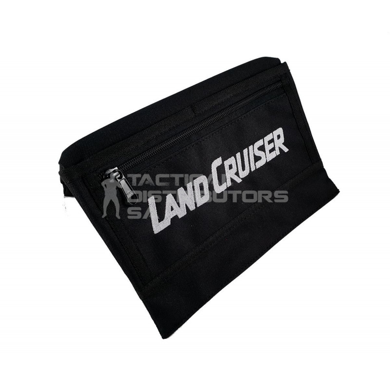 "DZI Vehicle Armrest - Black - ""LAND CRUISER"""