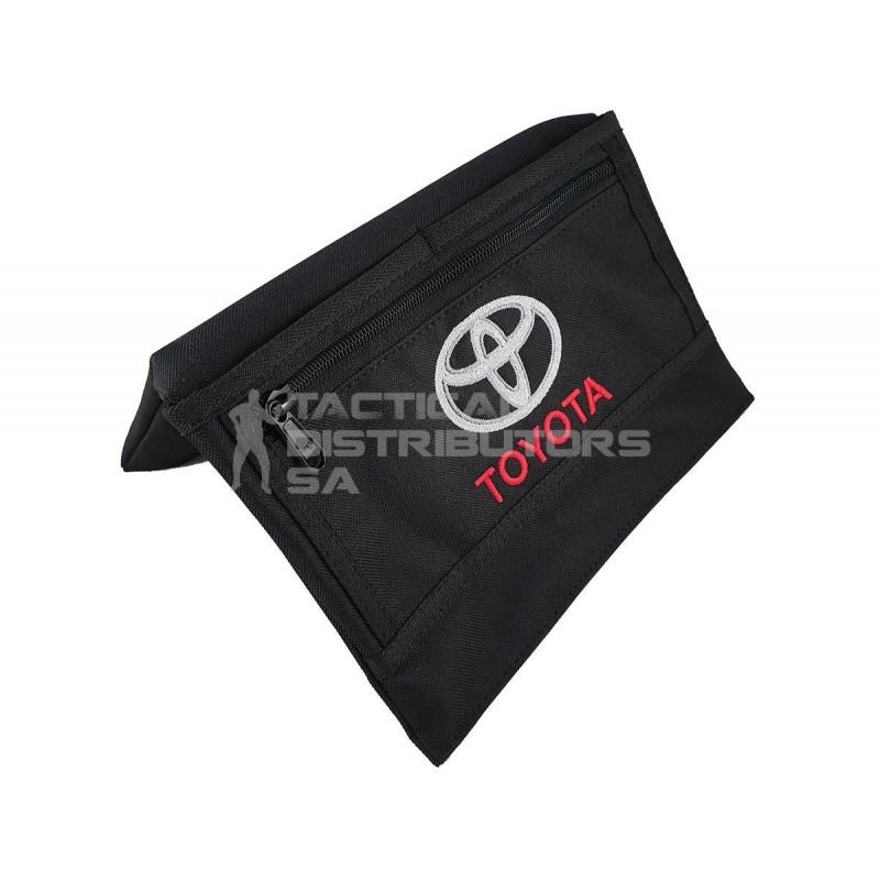 """DZI Vehicle Armrest - Black - """"Toyota"""""""