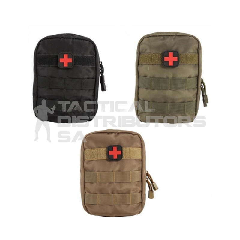 DZI FAK/Utility Pouch with Medic Velcro Patch - Various