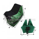 Basic 2 Piece Sand Bag Bench Rest - OD