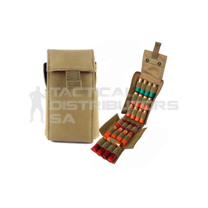 Basic 25rd MOLLE Shotgun Reload Ammo Pouch - Various