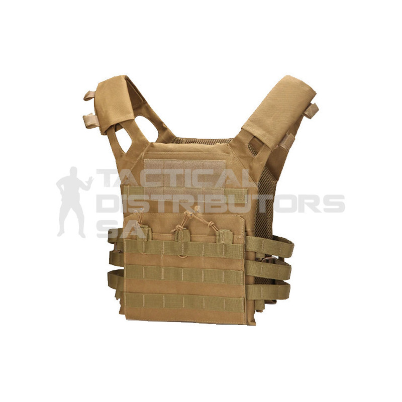 Basic Lightweight MOLLE Plate Carrier Only - Various