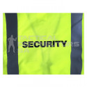 """SECURITY"" Branded Reflective Jacket with Zip and ID Pouch - Various Colours"