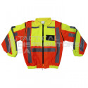 """""""SECURITY"""" Branded Metro Reflective Jacket with Detachable Sleeves"""