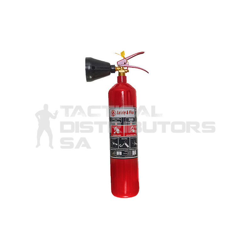 CO2 Fire Extinguisher 2kg -...