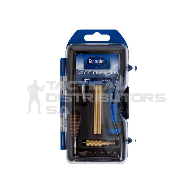 Gun Master 14pc .44/.45 Caliber Pistol Cleaning Kit with...
