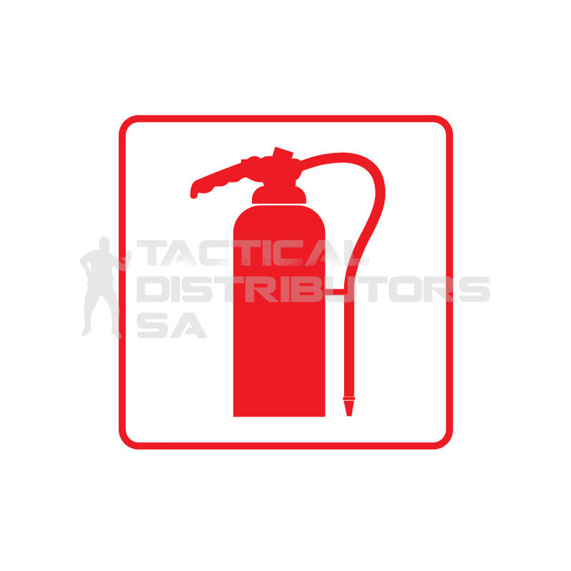 Fire Extinguisher Sign -...