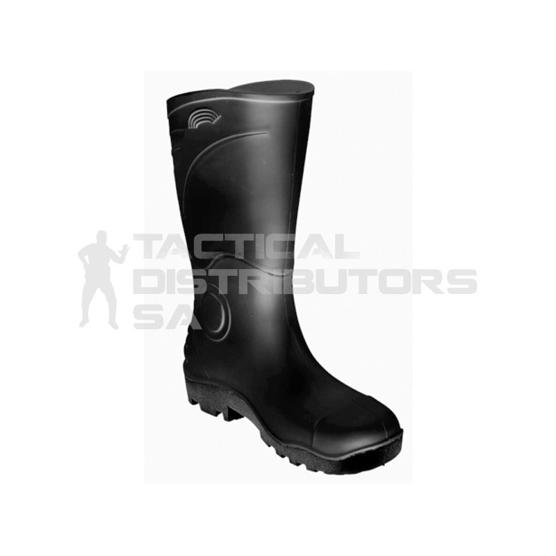 Dot Gemini Black Gumboot  - Various