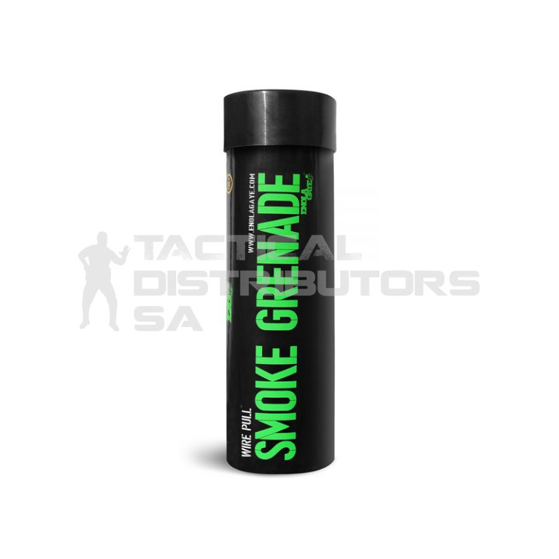 Enola Gaye WP40 Wire Pull Smoke Grenade - Green