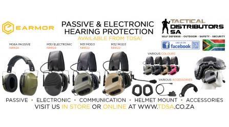 Earmor Passive and Electronic Hearing Protectors and Accessories