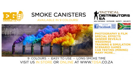 All 9 Colours Enola Gaye Smoke Canisters Back in Stock!