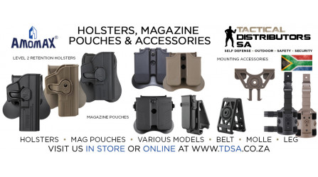 Amomax Holsters and Magazines Now Available!