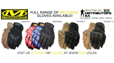 New Mechanix Wear Gloves have just Arrived!