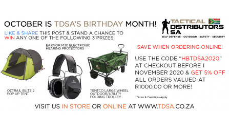 Save & Win During TDSA's Birthday Month!