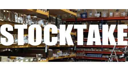 TDSA Headoffice and Boksburg Branch Stocktake - 2 & 3 November 2020