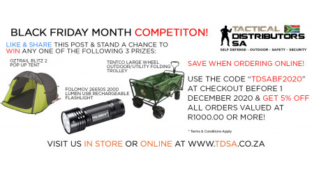Black Friday Month - Win & Save with TDSA!
